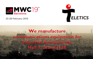 Teletics at MWC Barcelona 2019